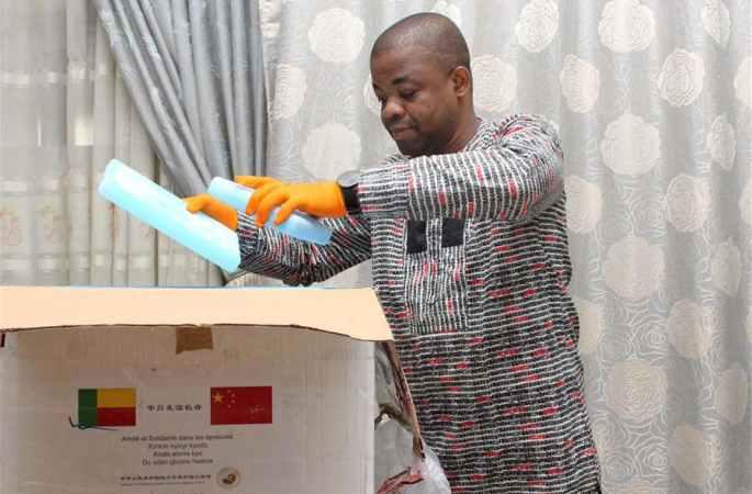 중국, 베냉에 코로나19 진단키트 기증