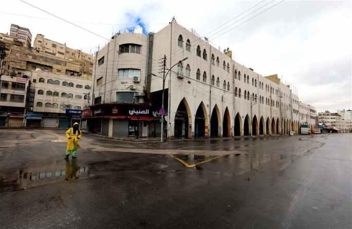요르단: 자가격리, 강제 조치로 격상