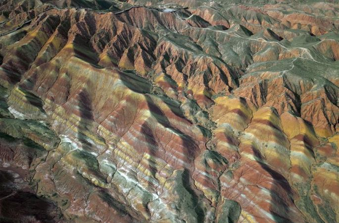 간쑤: 칠채단하 재개장