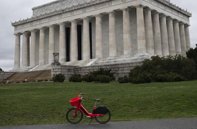 미국 워싱턴: 링컨기념관 휴관