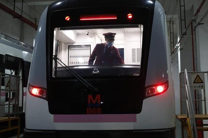 우한 지하철 일부 운행 재개