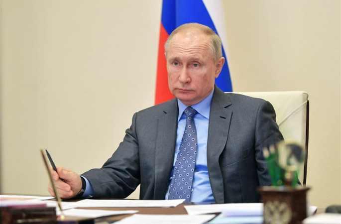 푸틴 俄 대통령, 온라인 집무 실시