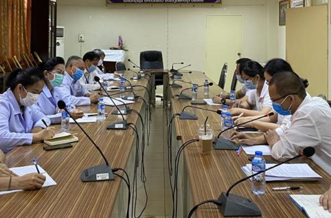 중국 방역 의료 전문가팀, 라오스 코로나19 확진자 치료 상황 심층 파악