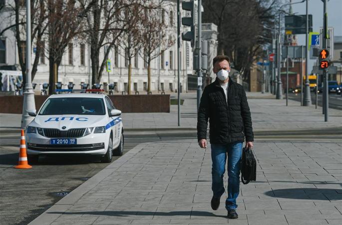 俄, 코로나19 누적 확진 환자 1만명 돌파