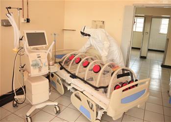 짐바브웨 코로나19 지정병원 탐방