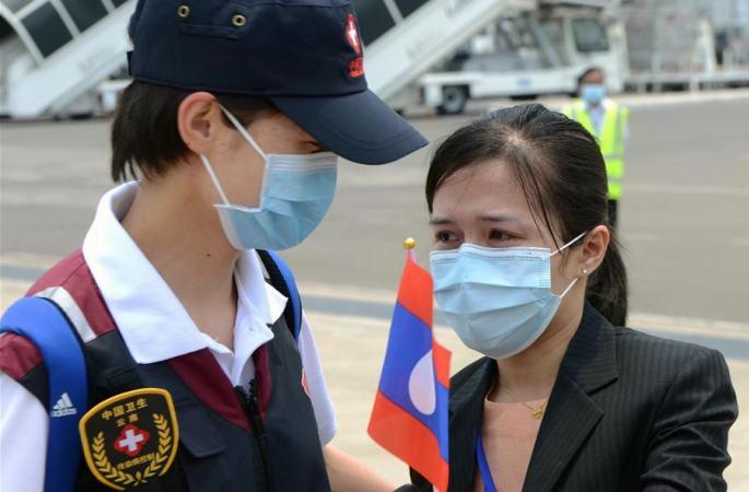 라오스 방역 지원 中 의료 전문가팀 귀국