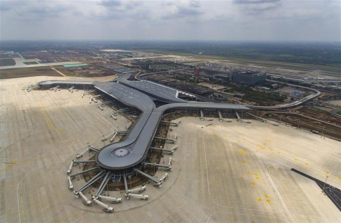 하이커우 메이란 국제공항 2기 공사 건설 박차
