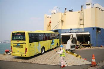 해외로 '질주'하는 중국산 버스