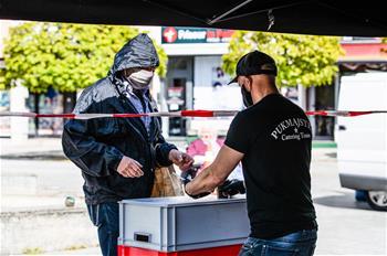 독일: 무료 음식 제공