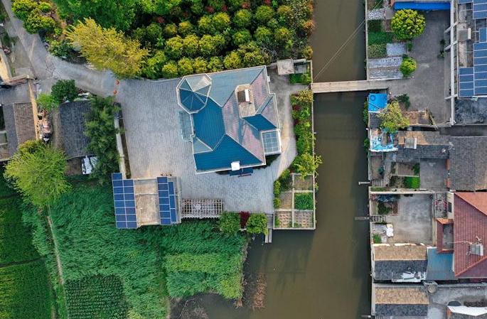 장쑤 전장: 아름다운 농촌 건설…행복마을 만들기