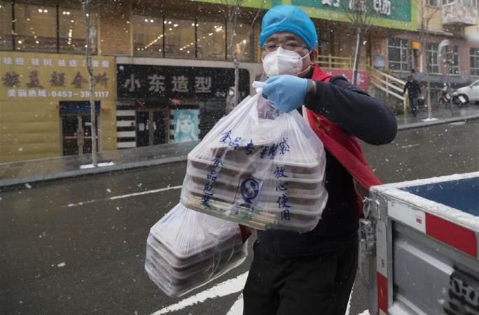 쑤이펀허: '80後' 도시락 배달 자원봉사자의 마지막 근무