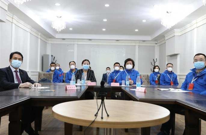 키르기스스탄서 중국 합동업무팀과 교포 방역 화상회의 개최