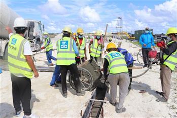 中 기업, 몰디브 방역시설 건설에 조력