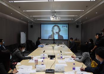 베이징 동계올림픽조직위원회…'언택트 면접' 실시