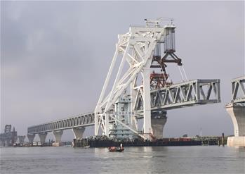 中 기업, 방글라데시 파드마대교 29번째 철골조 설치 작업 마쳐