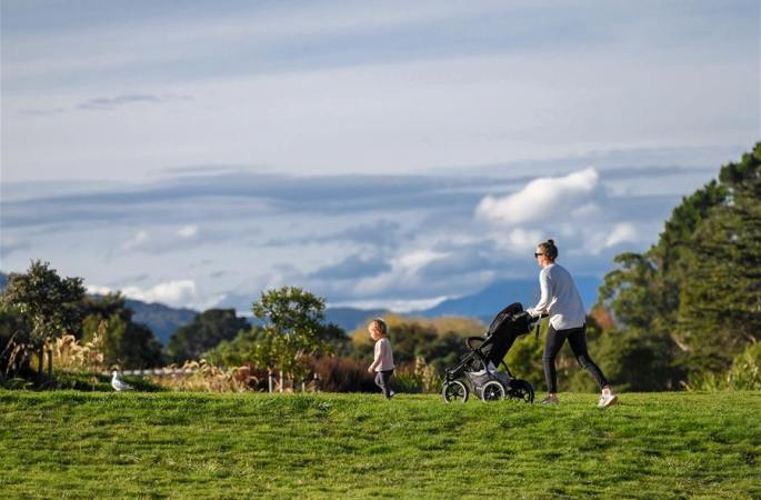다시 오픈된 뉴질랜드 공원