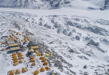 해발 6500m 주무랑마봉 '마귀캠프' 탐방