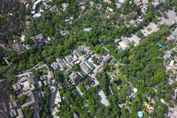 초여름 맞은 란저우, 수려한 생태 뽐내