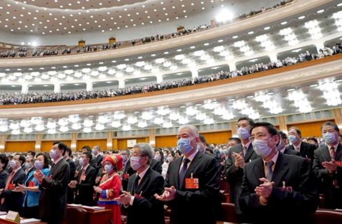 13기 전인대 3차회의 제2차 전체회의 개최