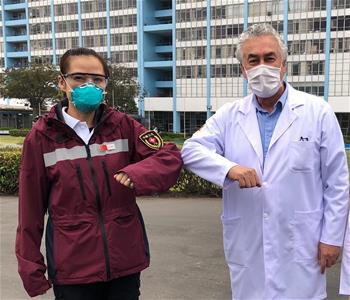中 의료 전문가팀, 페루서 방역 경험 공유