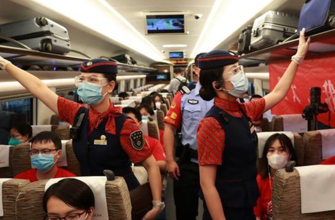 우한-베이징 고속철 운행 재개