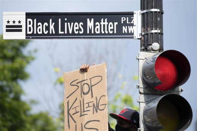 미국 전역 인종차별 항의 시위 계속