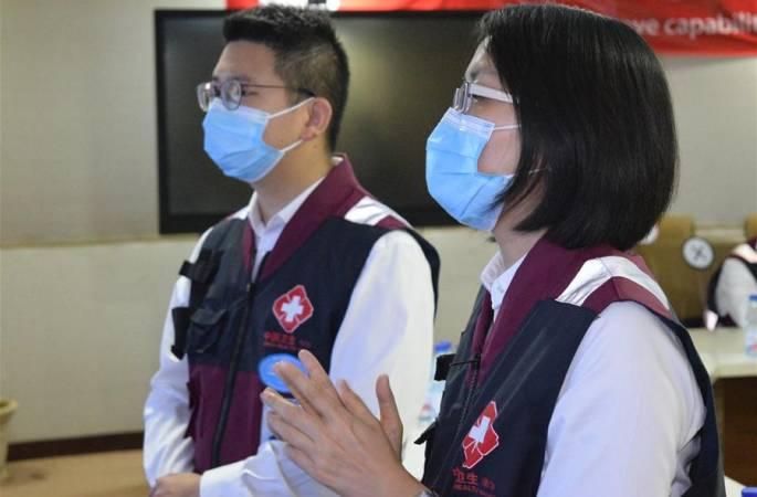 수단 지원 중국 방역 의료 전문가팀, 수단 지원 중국 의료팀과 방역 경험 교류