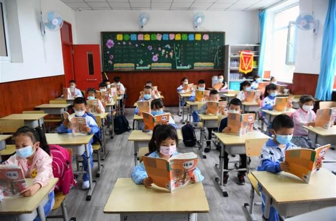 창춘시 초등학교 저학년 학생 등교 수업 재개