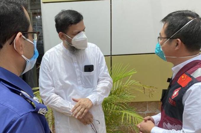 방글라데시 파견 中 의료 전문가팀, 지속적으로 방역 경험 교류