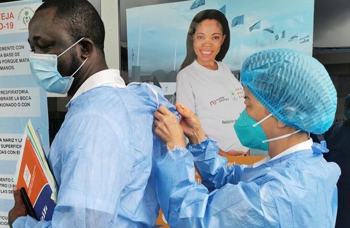 중국 방역 의료 전문가팀, 아프리카서 방역 도와