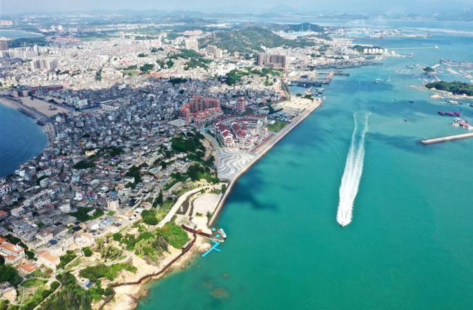 푸젠 둥산: 전역 생태관광의 섬 건설에 박차