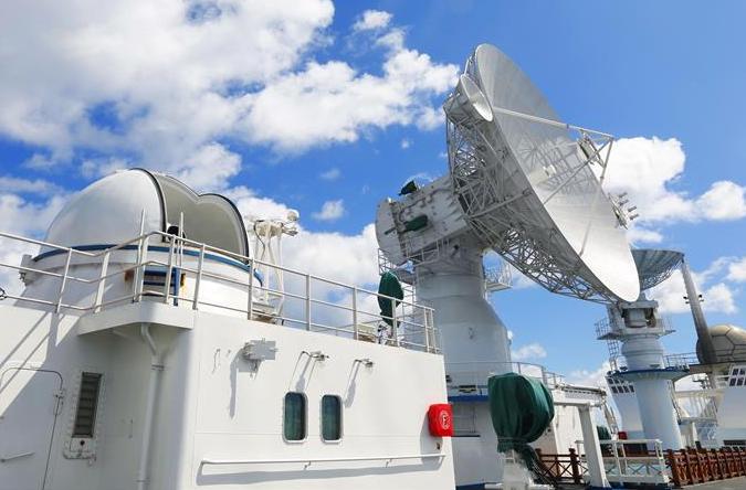 위안왕6호선, 태평양서 정밀한 관측·제어 진행…베이더우3호 '마지막 별'의 궤도 진입에 조력
