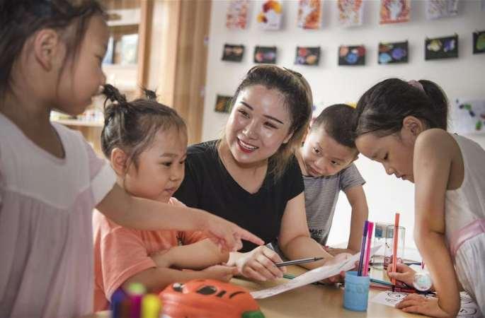 산시 란가오: '사이좋은 이웃집'…이주 주민 새로운 생활 융합 도와
