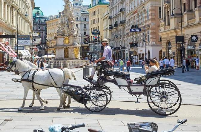 오스트리아 빈 관광객 증가세