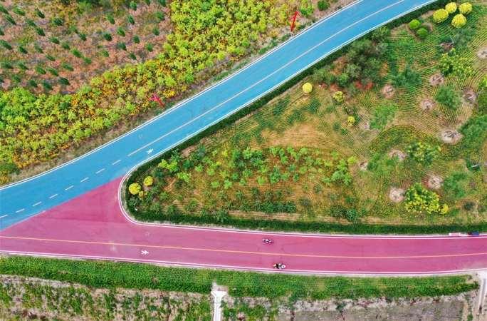 허베이 첸시: 강 생태 복원해 청산녹수 재현