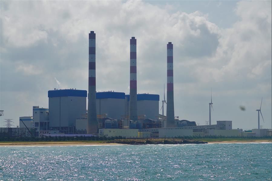 중국 기술자, 코로나19속 스리랑카 발전소의 든든한 지킴이