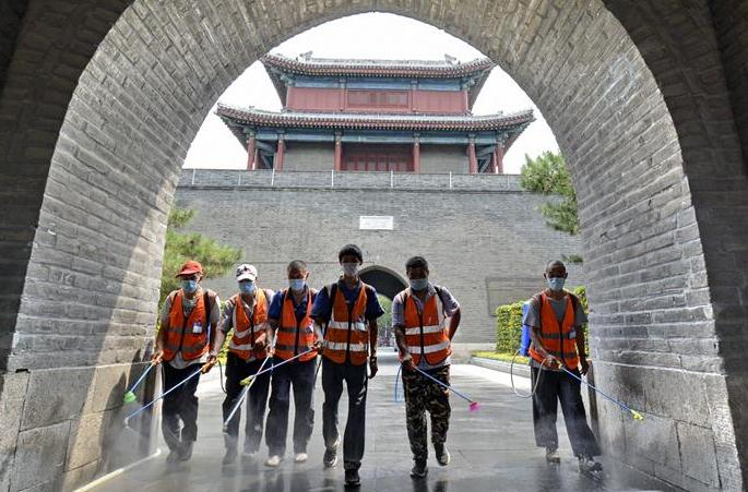 베이징 펑타이: 환경 소독 실시해 시민의 안전 보장