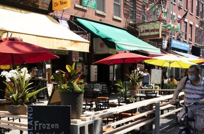 뉴욕, 경제 재개 3단계 진입…식당 실내 영업은 재개 제외