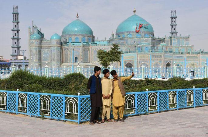 아프가니스탄: 블루모스크 다시 오픈
