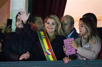 아녜스 볼리비아 임시 대통령, 코로나19 검사에 양성 반응