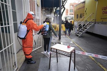 아르헨티나, 의사가 집으로 찾아가는 코로나19 검사