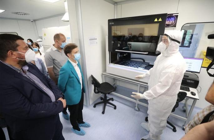 세르비아, 두 번째 바이러스 검사 실험실 '훠옌' 준공