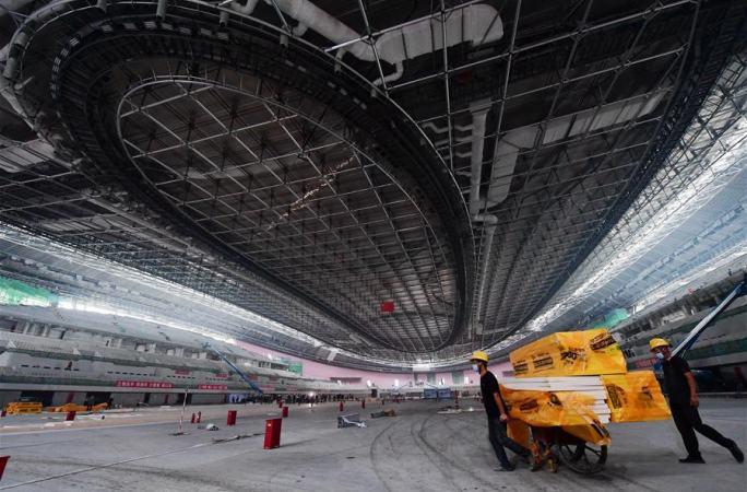 2022베이징 동계올림픽 경기장 건설 현장 탐방