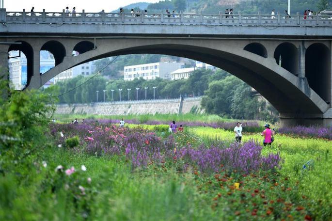 산시 옌안: 수로 종합 정비로 녹색 보금자리 건설