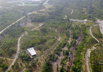 베이징 동계올림픽 옌칭 경기구역 '산림 경기장, 생태 동계 올림픽' 효과 나타내