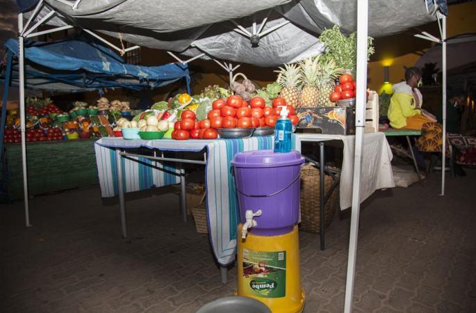 잠비아: 코로나19 속 채소시장