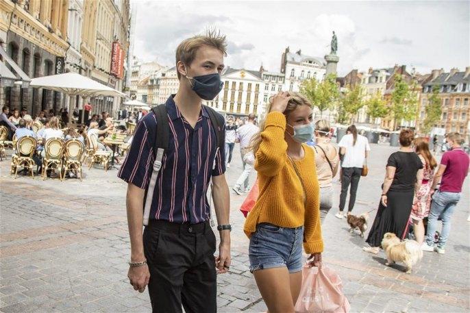 프랑스 릴 등 일부 도시 마스크 착용 의무화
