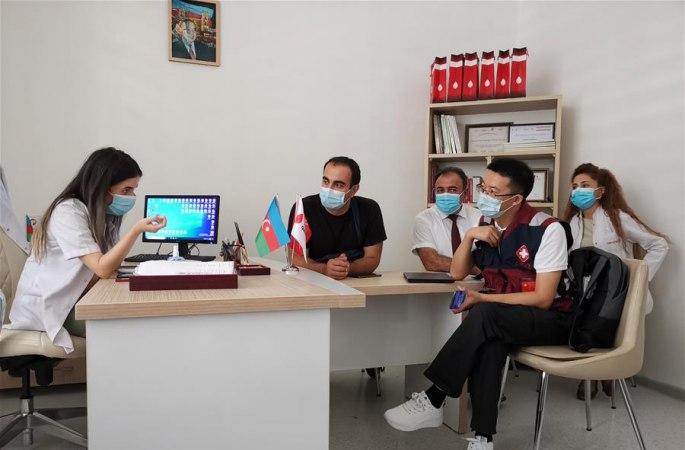 中 방역 의료 전문가팀, 아제르바이잔서 조사·교류 실시