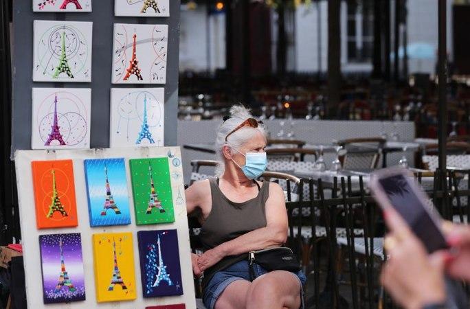 파리, 야외 장소 마스크 착용 의무화