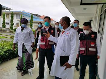 中 전문가팀, 기니 의료진과 방역 경험 교류